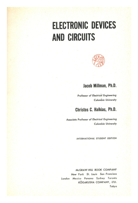 Millman-Halkias - Electronic Devices and Circuits - 1967 (3)
