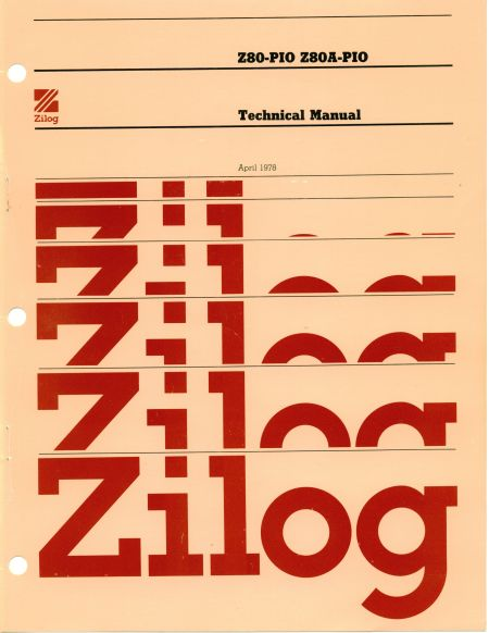 Zilog Z80-PIO Technical Manual