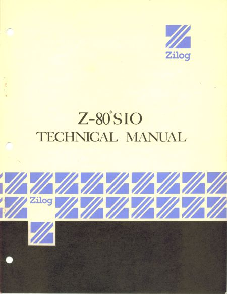 Zilog Z80-SIO Technical Manual