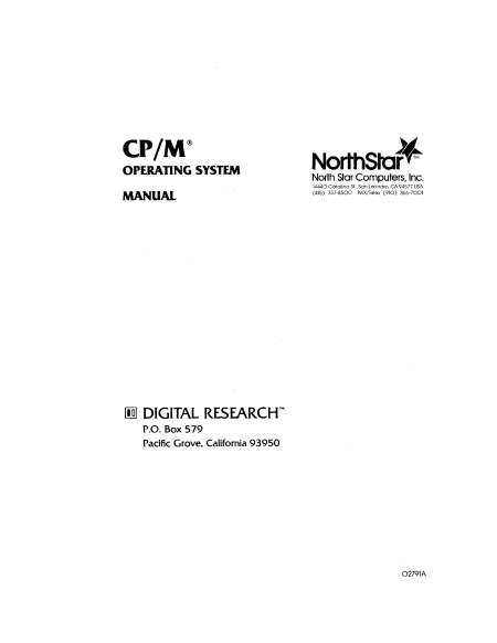 North Star CPM 2.2 Manual